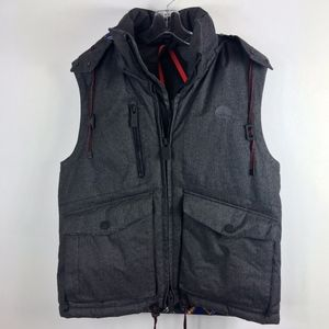 Gerry Mountaineering down vest removable hood M